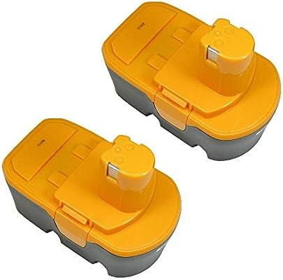2x AKKU 18V 3000mAh Ni-MH für Ryobi CDA18021B CDA1802M CDC181M CDD182L CDI1801
