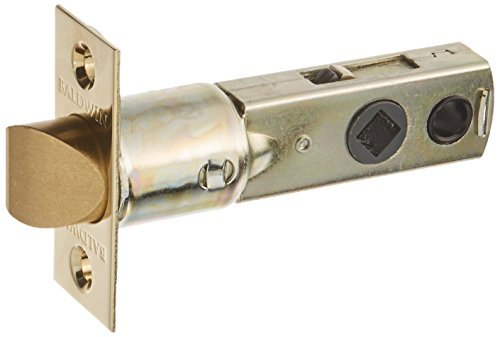 Baldwin 5300 Replacement Latch, Lifetime Polished Brass Baldwin Brass Latch