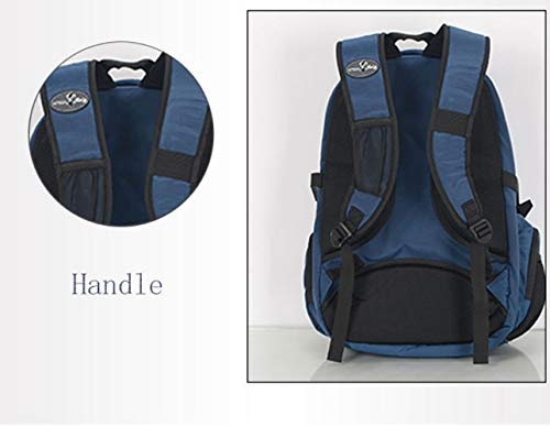 36 Fashion Travel 26 Generation Backpack Bag Blue Solar Self Outdoor 55L Backpack ZHANGQIAN Inches Charging OqxBHOg