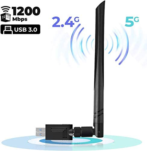 Wireless Adapter 1200Mbps Antenna 10 5 10 13 product image