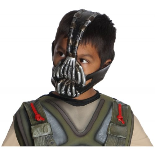 Bane Mask Costume (Batman: The Dark Knight Rises: Bane 3/4 Mask, Child Size)