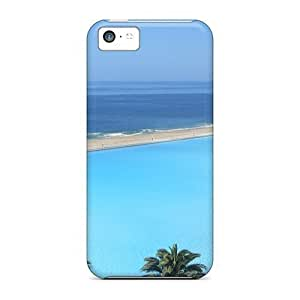 Anti-scratch And Shatterproof Huge Pool In San Alfonso Del Mar Chile Phone Case For Iphone 5c/ High Quality Tpu Case hjbrhga1544