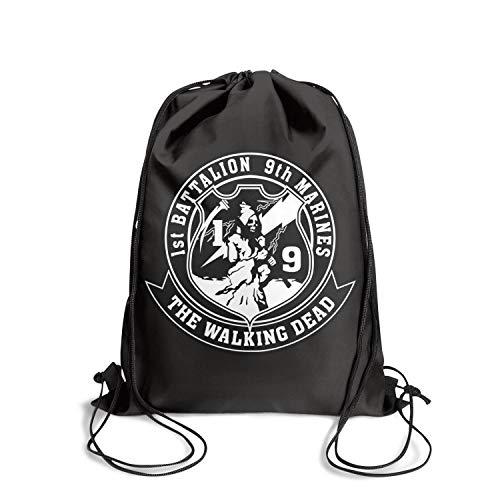 1st Battalion 9th Marine Association Drawstring Backpack Classic Sportssackpack Gym Bag
