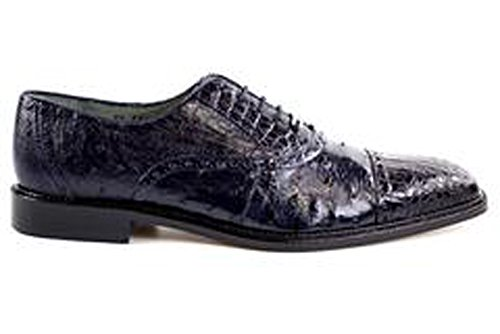Belvedere Onesto II Genuine Ostrich and Crocodile Oxford ...