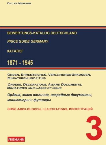Bewertungs-Katalog Deutschland: Price Guide Germany, 1871-1945