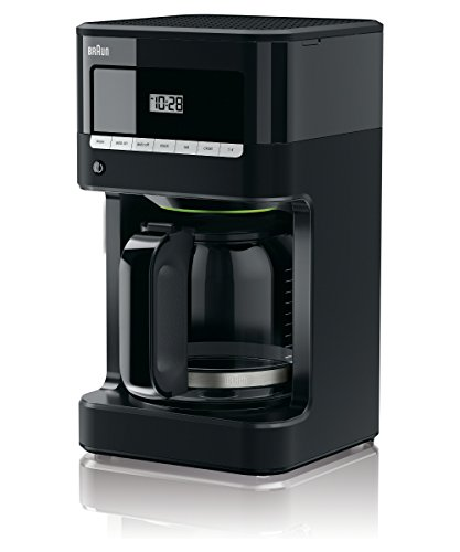 Braun KF7000BK BrewSense 12 Cup Drip Coffee Maker - Black