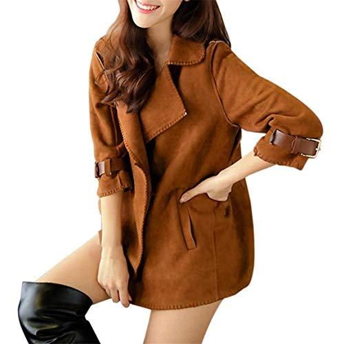 Colore Schwarz Puro Modern Outwear Jacket Battercake 4 Eleganti Outerwear Manica Casuale 3 Giacche Giacca Invernali Donne Giubbino Stile Autunno Donna Vintage 7BRqO