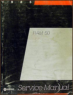 1985 Dodge Ram 50 Truck Repair Shop Manual Original