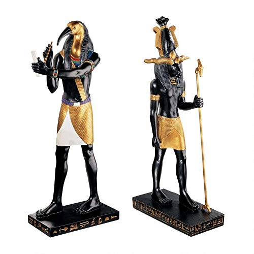 Design Toscano Khoum Creator of Mankind and Thoth God of Scribes