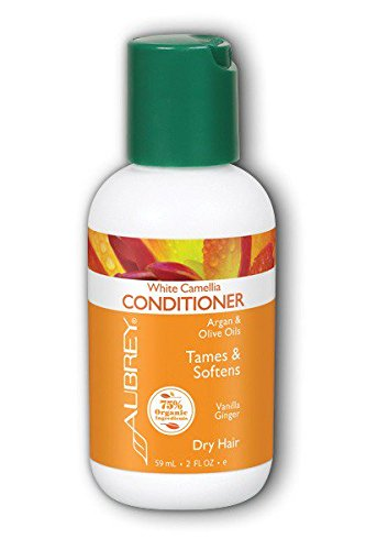 White Camelia Conditioner Aubrey Organics 2 oz Liquid Aubrey White Conditioner