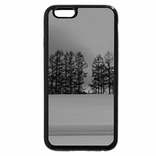 iPhone 6S Plus Case, iPhone 6 Plus Case (Black & White) - WINTER HILLS