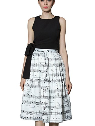 Womens A-line No Pleat Skirt - 7