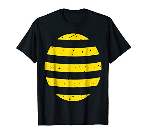 Halloween Bee Shirt Bumble Honey Bugs Lazy Easy Costume
