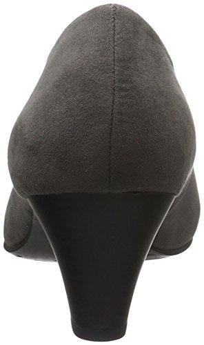 Para Lona Tozzi Gris 200 Zapatos Vestir De Mujer grey 22413 Marco RYBwXqB