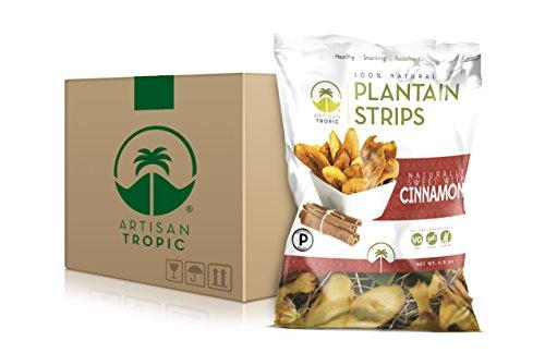 Cheap Artisan Tropic Plantain Strips: Cinnamon 4.5oz (12 Pack)