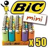 BIC MINI ACCENDINO COLOR x50