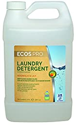 Earth Friendly Products Proline PL9750/04 ECOS Magnolia and Lily Scented Liquid Laundry Detergent, 1 gallon Bottles (Case of 4)