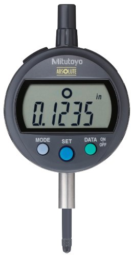 Mitutoyo 543-406 Absolute LCD Digimatic Indicator ID-C, Standard Type, #4-48 UNF Thread, 0.375