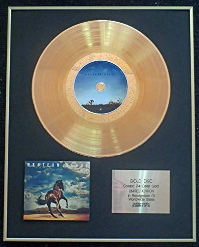 Century Presentations - Bruce Springsteen - Exclusive Limited Edition 24 Carat Gold Disc - Western Stars