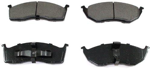 Voyager Brake (DuraGo BP591 MS Front Semi-Metallic Brake Pad)