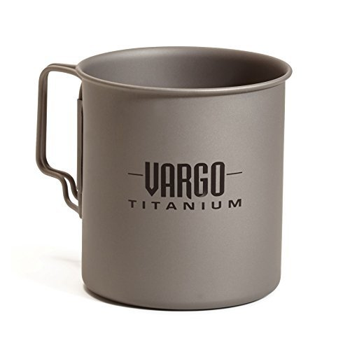 Vargo 450 Titanium Travel Mug [並行輸入品]   B06XFL8JBD