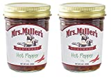 Mrs. Miller's Amish Made Hot Pepper Jelly 9 Ounces - 2 Pack