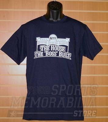 George Steinbrenner New York Yankees Stadium THE HOUSE THE BOSS BUILT Shirt - Size L