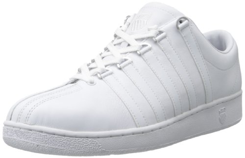 K-Swiss Men's Classic LX Lace-Up Sneaker,White,8 XW US