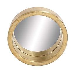 Deco 79 28611 Wood Alumimum Clad Mirror 24\