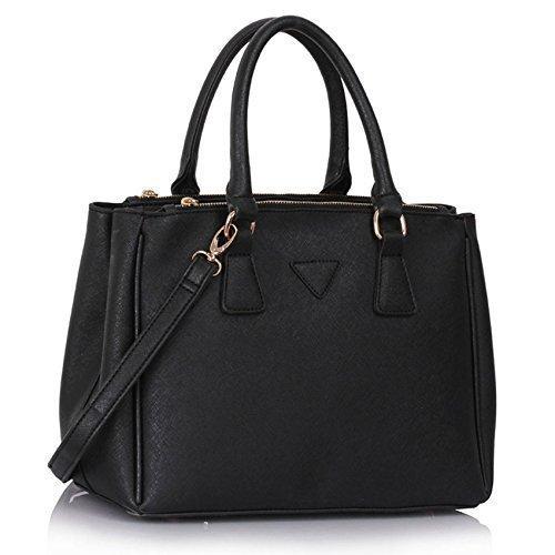 TrendStar Damen Neuheiten Handtaschen Designer Umhängetaschen Kunstleder Berühmtheit Stil Mode Large Tote