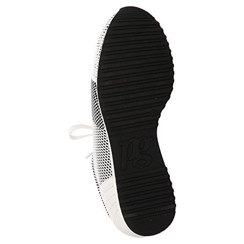 Paul Green Sneaker - schwarz weiß Weiß