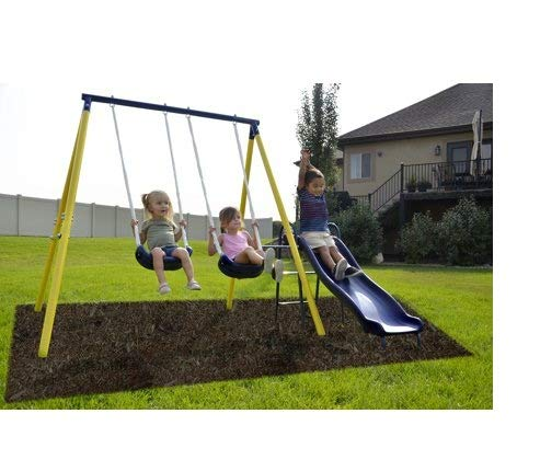 Sportspower Power Play Time Metal Swing Set