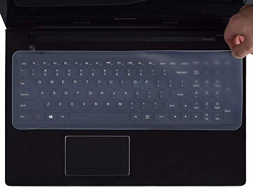 SMM Universal Silicone Keyboard Protector Skin Compatible for 15.6 inch Dell Vostro 3578 Laptop  Transparent
