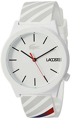 Lacoste Men's 2010935 Motion Analog Display Quartz White Watch