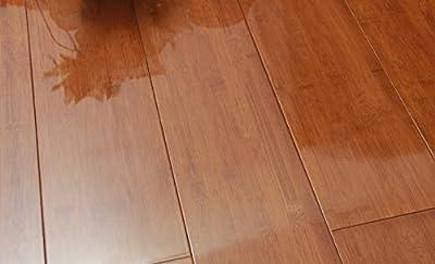 JingTai High Gloss Merbau-colored Bamboo Flooring Sample