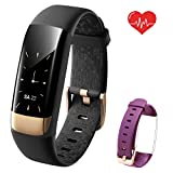 Siroflo Fitness Tracker HR, Health Tracker Watch with Heart Rate, Female Physiological Period