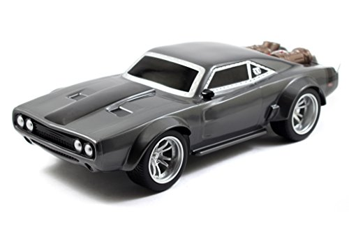 Amazon.com: Jada Toys 98308 Fast & Furious F8 Dooms Ice Charger Arc/Radio Control Toy Vehicle- Ready to Run, 1: 16 Scale, Grey: Toys & Games