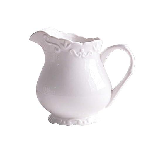 Jarra de cerámica estilo condado para café y leche, jarra de ...