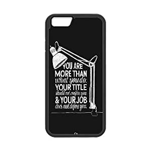 iPhone 6 4.7 Inch Cell Phone Case Black More Than You Do Euvnk