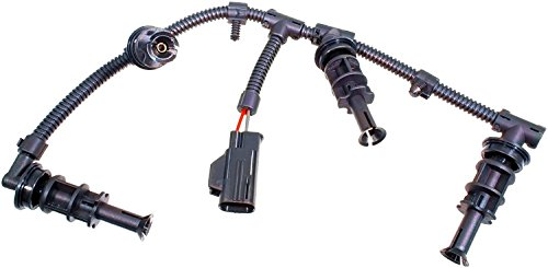 APDTY 015523 Glow Plug Wire Wiring Harness Fits 2008-2010 Ford 6.4L Diesel Left Driver-Side (Replaces 8C3Z-12A690-AA, 8C3Z12A690AA, 1876283C1)