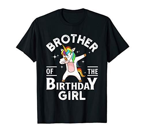 (Brother Of The Birthday Girl Unicorn)