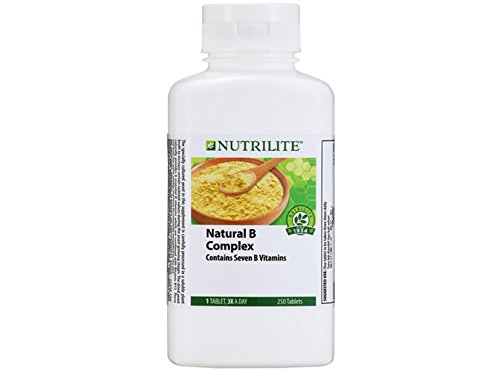 3 x Amway Nutrilite Natural B Complex ( 250 tab ) by Amway