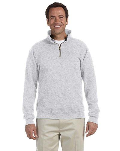 Jerzees Men's Super Sweats Crew Neck Sweatshirt, Ash, Medium (Crewneck Super Sweats Sweatshirt)