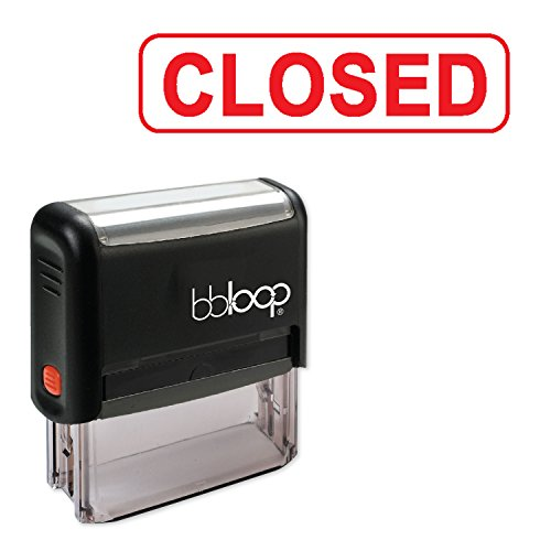 Bold Big Border (CLOSED w/Border BOX - Self-Inking Rubber Stamp by bbloop)