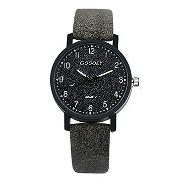 WZFCSAEAE Relojes para Mujer 2018 Relojes de Moda para Mujer Reloj de Pulsera Reloj de Pulsera de Lujo Relogio Feminino, Negro: Amazon.es: Deportes y aire ...