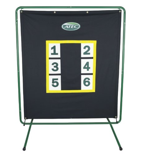 ATEC Pro Pitcher's Practice Screen with Stand