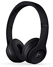 Beats Solo3 Wireless On-Ear Headphones - Apple W1 Headphone Chip, Class 1 Bluetooth, 40 Hours of Listening Tim
