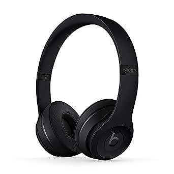 Trådlösa BeatsSolo3 on-ear-hörlurar – AppleW1-chippet, Class1Bluetooth, 40 timmars lyssning - Svarta