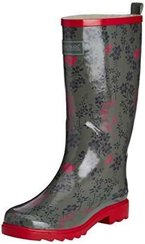 Regatta Dames Fairweather Walking Boots Stoffige Olive / Virtual Pink