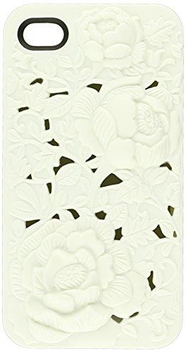 SwitchEasy Avant-garde Blossom Schutzhülle Weiss für Apple iPhone 4/4S